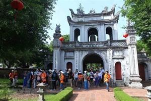Hanoï accueille près de 14,4 millions de visiteurs en six mois