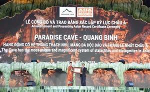 Ouverture du festival de la grotte de Quang Binh en 2019