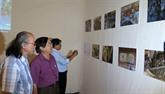 Exposition sur des ouvrages architecturaux de Huê