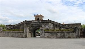 Lancienne citadelle de Quang Tri, un site du tourisme de mémoire