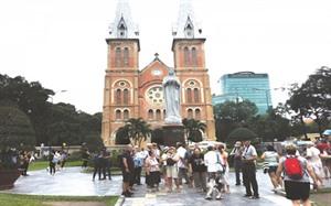 Hô Chi Minh-Ville vise les 10 millions de touristes étrangers