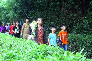 L'Année du Rat 2020: nombreuses personnes affluent vers le site de Kim Liên