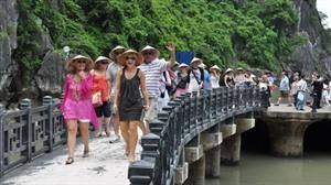 Le nombre de touristes étrangers au Vietnam diminue de 76,6% en onze mois
