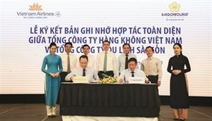 Coopération intégrale Saigontourist - Vietnam Airlines