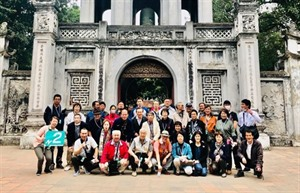 Cinq délégations de touristes japonais visitent la capitale vietnamienne