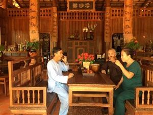 Insolite : la maison en cocotier à Vinh Long