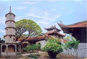 La pagode Bút Tháp, chef-dœuvre darchitecture