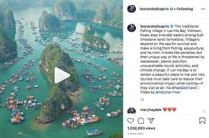 Lacteur principal du Titanic loue la beauté de la baie de Lan Ha