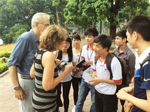 Les étudiants sengagent à transmettre la culture et lhistoire