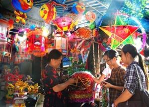 Vieux quartier de Hanoï, rendez-vous de la Fête de lune