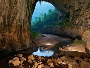 LAFP présente la grotte Son Doong dans un article