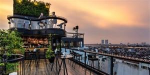 Quatre hôtels à Hanoï dotés des plus beaux toits dans le monde