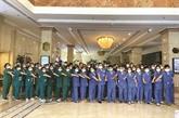 COVID-19 : aide de Saigontourist aux équipes médicales