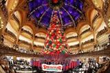 Le magasin des Galeries Lafayette à Paris décoré pour Noël, le 8 novembre. Photo: AFP/VNA/CVN