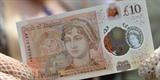 Le nouveau billet de 10 livres à l'effigie de Jane Austen est présenté à Winchester, dans le Sud de l'Angleterre, le 18 juillet. Photo : AFP/VNA/CVN