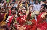 Le Festival culturel indien a eu lieu le 12 août au complexe de resorts FLC Sâm Son dans la province centrale de Thanh Hoa (Nord). Photo : VNA/CVN