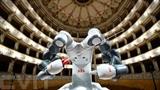 Le robot chef d'orchestre YuMi avant le concert du 12 septembre à Pise, en Italie. Photo : AFP/VNA/CVN