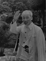 Président Hô Chi Minh, père de la nation, leader de génie du Parti et du peuple vietnamiens. Photo: Archives/VNA/CVN