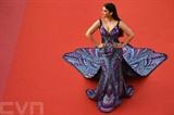 L'ancienne Miss Monde et actrice indienne Aishwarya Rai, à Cannes le 17 mai 2018. Photo: AFP/VNA/CVN