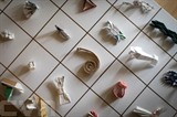 Des pièces de la Collection d'origami de Yuki Tatsumi au Japon. Photo: AFP/VNA/CVN