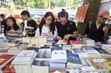 <br /> Des livres présentés à la sixième édition de la Journée du livre au Vietnam. Photo: Minh Quyêt/VNA/CVN<br />
