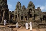 Ancien temple d'Angkor Wat, au Cambodge. Photo: AFP/VNA/CVN