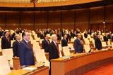 Ouverture de la 10<sup>e</sup> session de la XIV<sup>e</sup> législature de l'Assemblée nationale, le 20 octobre à Hanoï. Photo : Tri Dung/VNA/CVN