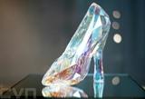 Un escarpin en cristal Swarovski au musée Swarovski Crystal Worlds, le 27 octobre 2020 à Wattens, en Autriche. Photo : AFP/VNA/CVN<br />