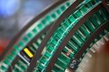 Une ligne de production de seringue à la PME Almo, le 15 décembre 2020 à Bad Arolsen, en Allemagne. Photo : AFP/VNA/CVN