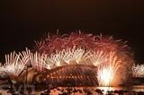 Feu d'artifice du Nouvel An à Sydney (Australie), le 1<sup>er</sup> janvier 2021 (heure locale). Photo : AFP/VNA/CVN
