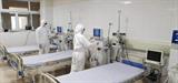 Un hôpital spécial installé à Mong Cai, province de Quang Ninh (Nord), pour accueillir les cas suspects du nouveau coronavirusa été mis en service le 3 février. Photo: VNA/CVN