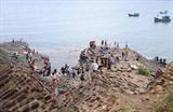 Gành Da Dia, merveille géologique de la province de Phu Yên.<br /> Photo : Pham Cuong/VNA/CVN