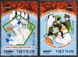 Série de timbres sur le thème