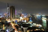 Une série de gratte-ciel à Hô Chi Minh-Ville. Photo: An Hiêu/VNA/CVN