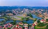 Un coin de la ville de Yên Bai. Photo : Tuân Anh/VNA/CVN