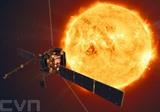 La sonde euro-américaine Solar Orbiter à l'approche du soleil. Photo : AFP/VNA/CVN