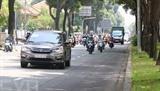 Hô Chi Minh-Ville est bondée après l'assouplissement de la distanciation sociale. Photo : VNA/CVN