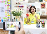 Enseignement en ligne à Hanoï. Photo : VNA/CVN
