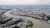 Située au cœur du delta du Mékong, au carrefour d'un vaste réseau de voies fluviales, la ville de Cân Tho dispose de conditions favorables à son développement socio-économique. Photo: VNA/CVN