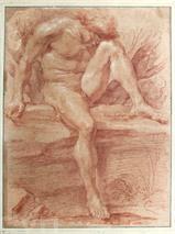 Le dessin de l'artiste italien Gian Lorenzo Bernini, alias Le Bernin, est vendu au prix record de 1,9 million d'euros aux enchères. Photo : AFP/VNA/CVN
