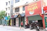 A Hanoï, à partir de 12h00 le 25 mai, tous les restaurants sont fermés mais la vente à emporter est possible.<br /> <br /> <br />