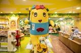 La mascotte Funassyi, représentant la ville de Funabashi, près de Tokyo, le 13 juillet dans un magasin de souvenirs. Photo : AFP/VNA/CVN