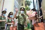 Des infirmières et médecins volontaires de la ville de Dà Nang sont prêts à déployer à Hô Chi Minh-Ville pour lutter contre la pandémie de COVID-19. Photo : VNA/CVN