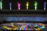 Cérémonie d'ouverture des Jeux paralympiques, le 24 août 2021 à Tokyo. Photo : Xinhua/VNA/CVN
