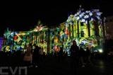 La lumière est l'art au Festival Of Lights à Berlin, du 3 au 12 septembre. Toutes les principales attractions de Berlin sont illuminées pendant neuf jours. Photo : Xinhua/VNA/CVN
