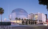 Le musée des Oscars, conçu par l'architecte Renzo Piano et situé dans l'Ouest de Los Angeles, sera le plus grand musée consacré au cinéma en Amérique du Nord. Photo: AFP/VNA/CVN